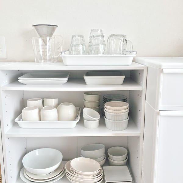 食器の収納場所を増やしたい!オススメ収納場所&収納のコツとは?