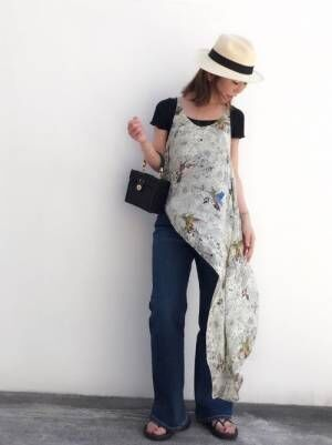 おしゃれに決まる♡【ZARA】のカゴバッグを使った大人女子コーデ特集