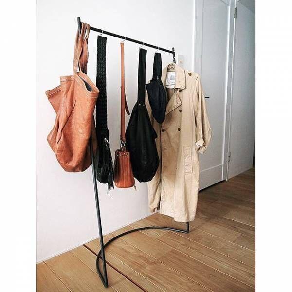 便利に使える「ハンガーラック」☆どんなお部屋にも合う活用術をご紹介します!