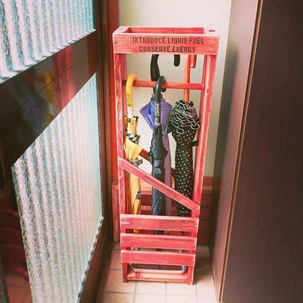 濡れた傘の置き場も普段の収納もこれで解決!お洒落な傘立て&収納方法