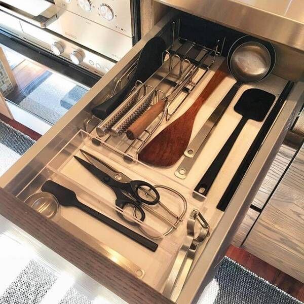「見せる収納&隠す収納」で素敵なキッチンに♪アイテム別の収納アイディア