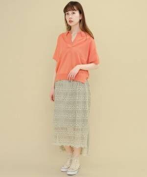 夏はビタミンカラーに注目!着るだけで明るい気分になれるオレンジコーデをご紹介♪