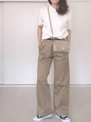今年はこれ!【ユニクロ】ワッフルクルーネックTの5分袖がかわいい♡