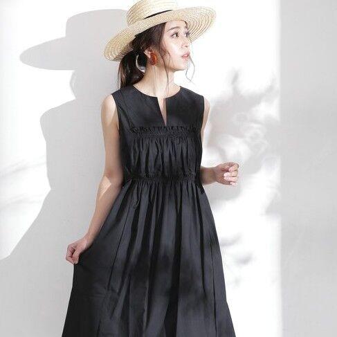 春夏の黒コーデ15選!重たく見せずクールにかっこよく着こなすコツ!