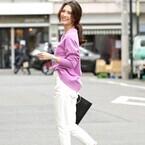 夏のきれいめスタイルに☆ホワイト系テーパードパンツで決める大人の素敵なコーディネート15選