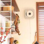 省スペースでおしゃれ☆無印良品の壁掛け式CDプレイヤー&スピーカーをご紹介