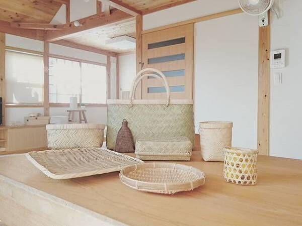 日本の風情を日常に。「竹かごのある暮らし」を実践されている素敵な方々の生活風景をご紹介