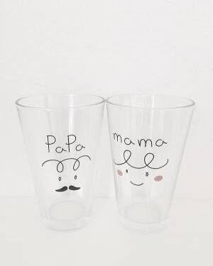 クリアなグラスで涼しげな演出♡カジュアルすぎない大人のおしゃれグラス