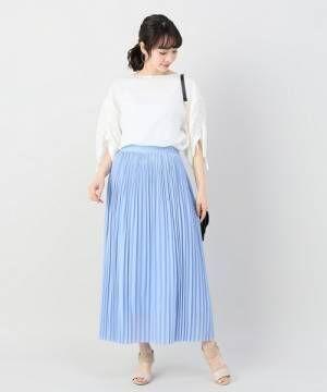 大人レディスタイルで夏を満喫☆プリーツスカートを着こなす最旬コーディネート15選