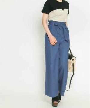 薄着の季節でもスタイルアップを叶えてくれる!4つのアイテムで作る大人女子コーデ♡