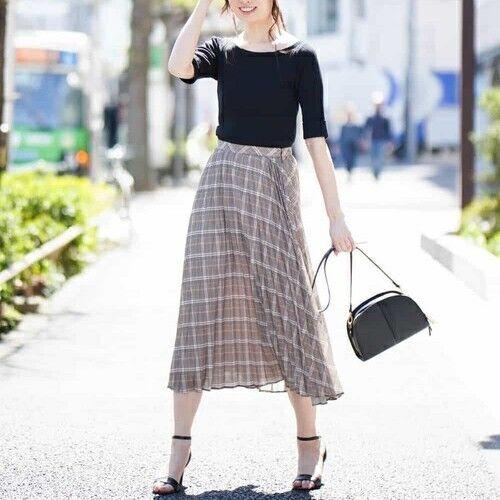 この夏も着たい!フェミニンな「プリーツスカート」で作る大人女子のトレンドコーデ