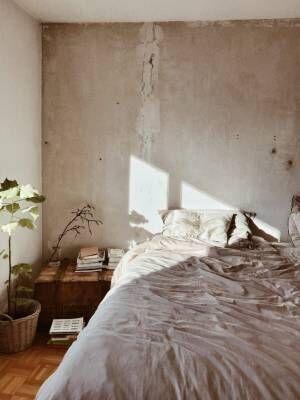 ベッドサイド用の家具木箱