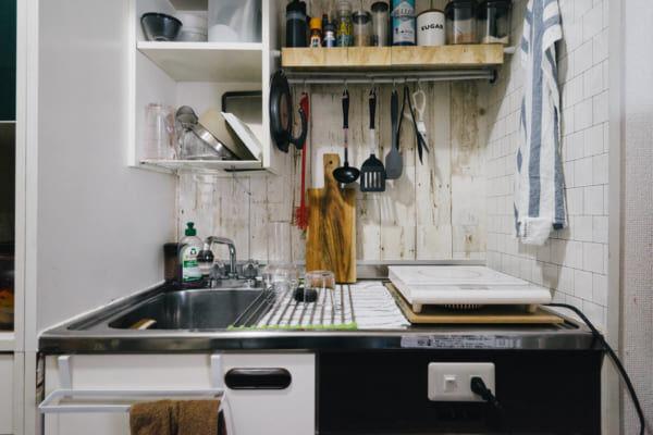 ワンルームのキッチンインテリア4