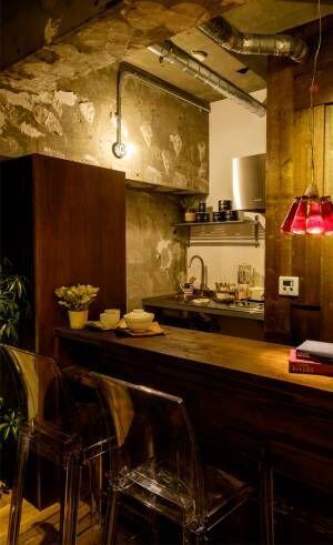 ワンルームのキッチンインテリア8