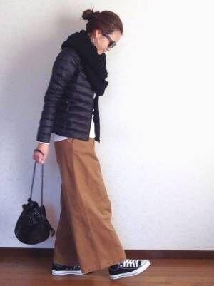 【ユニクロ・GU】のダウンジャケットを使った大人コーデ集