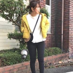 真冬の時期到来!【ユニクロ・GU】のダウンジャケットを使った大人コーデ集