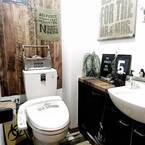 トイレの蓋&タンクをリメイク!おしゃれなトイレスペースのメソッド♪