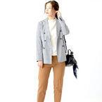 マニッシュでカッコイイ☆2019年に大人女子が選ぶ《チェック柄ジャケット》14選!