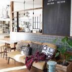 キッチンカウンターを有効利用☆DIYで叶えるカフェ風のおしゃれな収納実例