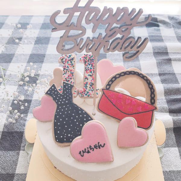 誕生日の飾り付け方 ケーキ