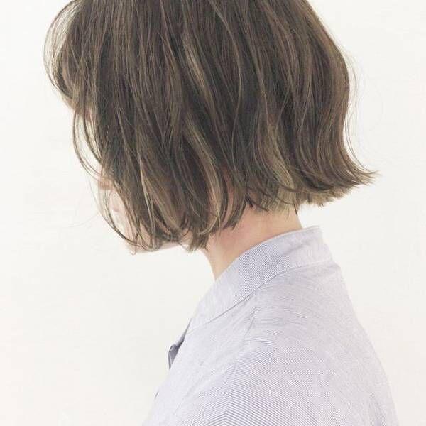 外国人風の質感をあなたにも☆ハイライト×ウェーブのヘアカタログ