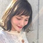 冬でも人気の寒色系カラー♡アッシュ・グレー・カーキ系のヘアカラー特集!