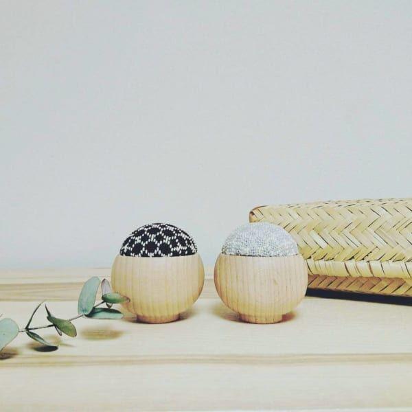 裁縫道具収納竹かご