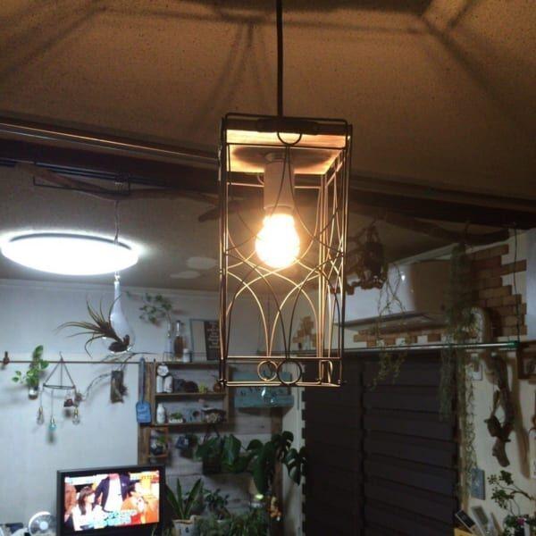 アイアン風ランプ