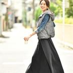 オフコーデをワンランクUP☆大人が着こなす「スウェットスカート」特集