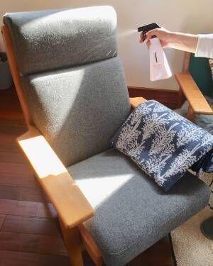 風邪対策 ソファを除菌