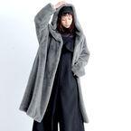 ふんわりボリュームが今っぽい♡人気の《エコファーコート》でお洒落をアップデート☆