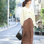旬顔コーデが叶う♡《チェック柄・アニマル柄スカート》で作るトレンドスタイル!