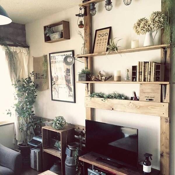 壁面収納 スチール製の棚受け2