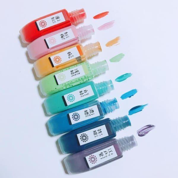 水彩絵の具 和の色