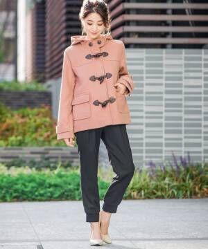 [Fashion Letter] メルトン ショート ダッフルコート 2018A/W