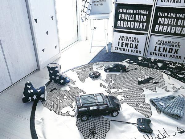 世界地図インテリア9