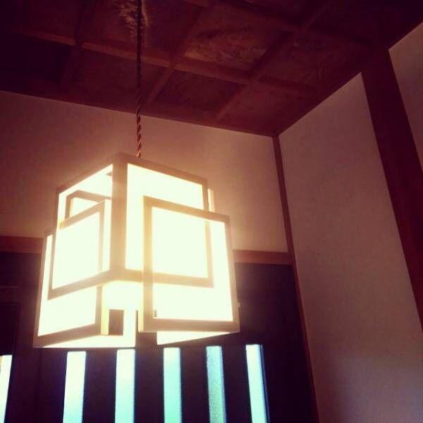 吊り下げ照明和モダン