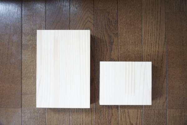 木箱型ミニワゴンdiy