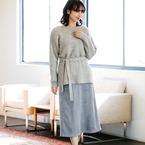 ラグジュアリーなオトナスタイルに♡スエードスカートの冬コーデ15選