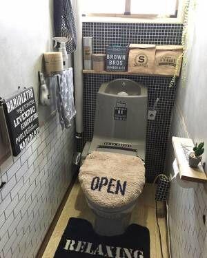 トイレ収納 棚を取り付ける