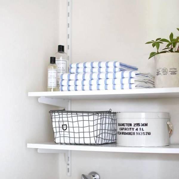 バスタオルの収納どうしてる?しまいやすく取り出しやすい収納アイデア