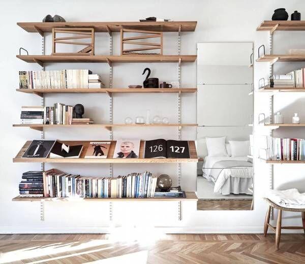 読書が好きな方必見!本棚をインテリアに溶け込ませるアイデア8選☆