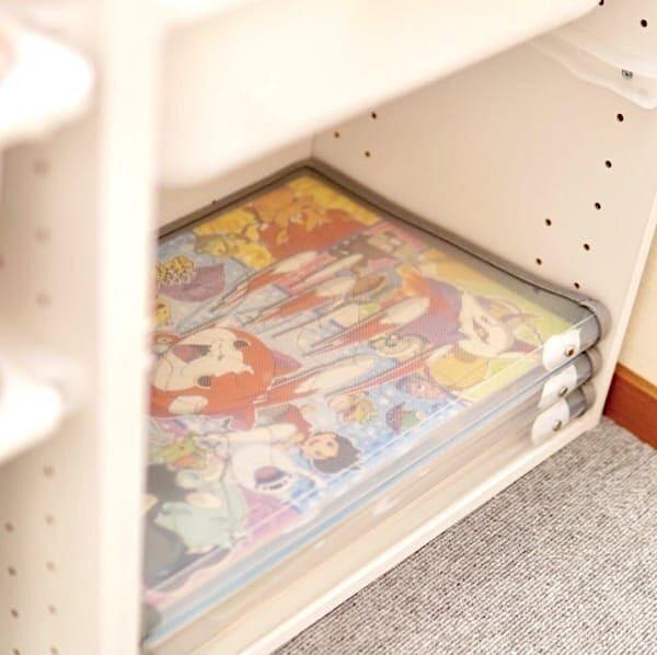 小さなアイテムもスッキリ♪ダイソー・無印良品で知育玩具&お絵かきグッズを収納