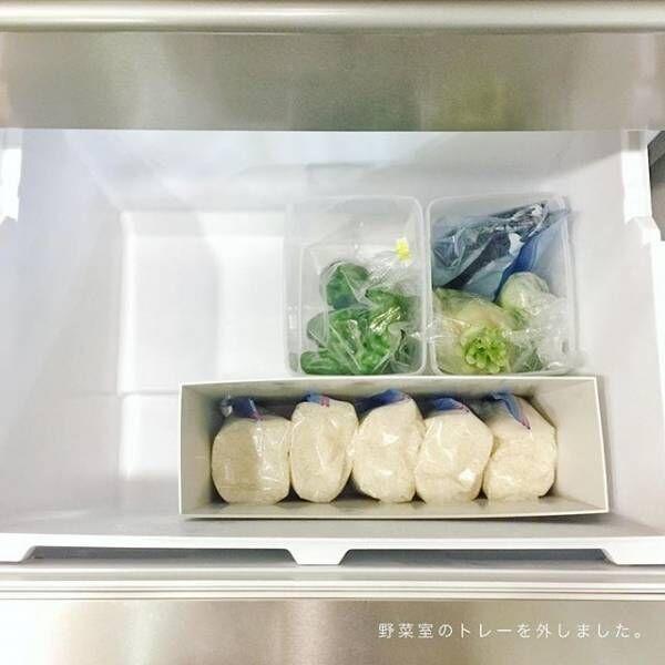 ジッパーバッグ 食品収納2