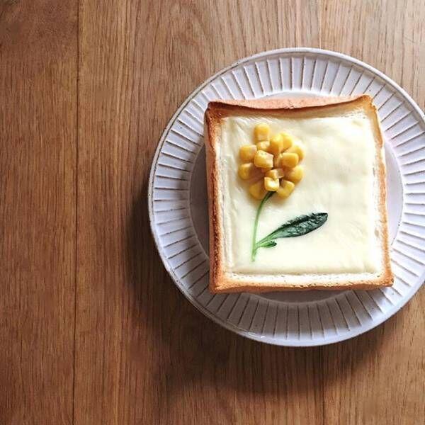 おうちで幸せ気分を味わう15の方法お花トースト