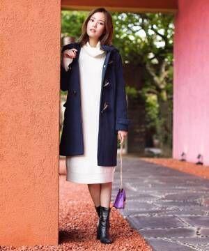[Social GIRL] ミドル丈ダッフルコート【2つの丈から選べるダッフルコートシリーズ】