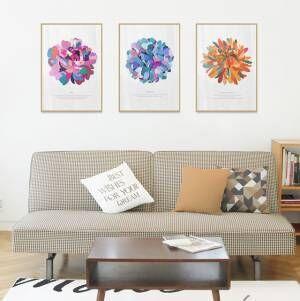 春が待ち遠しい♡花柄やフラワーアレンジでお部屋を明るくコーデしよう