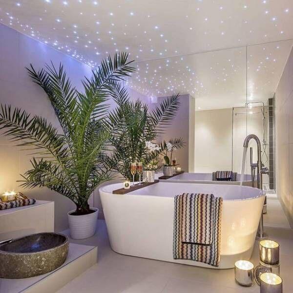 お風呂の風水インテリア