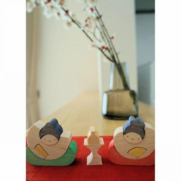 木製の雛人形3