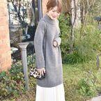 ニットワンピースで冬のモテコーデ♡大人かわいい着こなし15選!